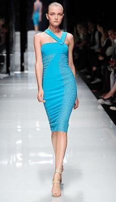модные платья весны-лета 2011