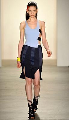 модные мини-палтья 2011
