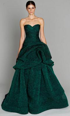 длинное вечернее платье 2011