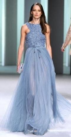 вечернее платье макси 2011