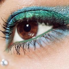 как наносить макияж глаз