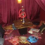 кальянная комната в своем доме