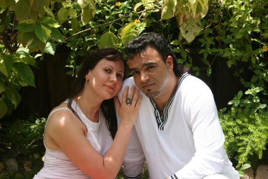 Мехди с супругой