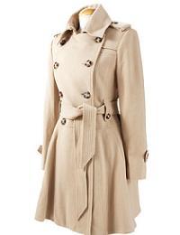 двубортное пальто в центре внимания зимой 2011 года