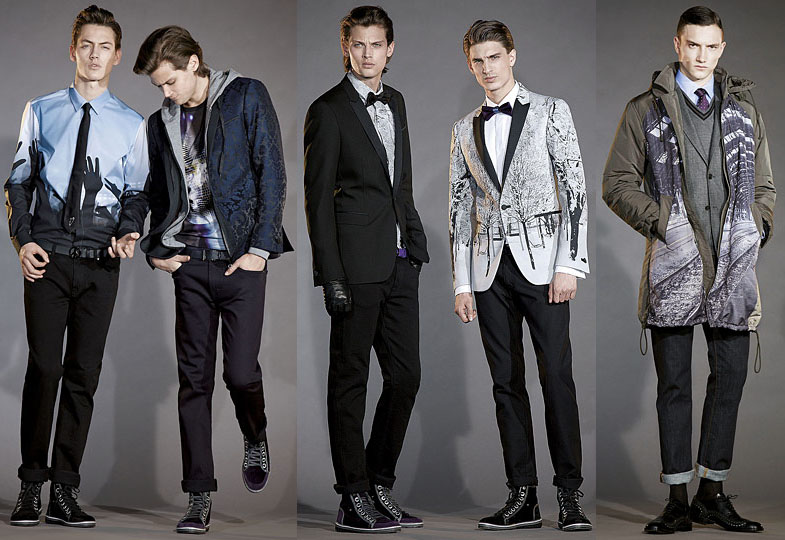 мужская мода осень 2010