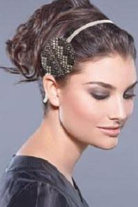 благородная новогодняя прическа сделает из вас настоящую царицу Клеопатру