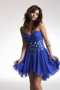 новогоднее платье 2011 с актуальными стразами