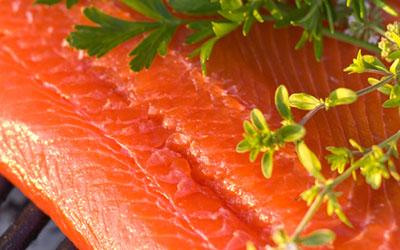 рецепт запеченрго в духовке лосося
