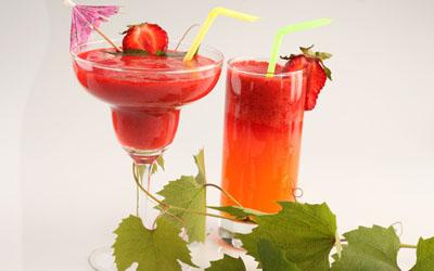 ягодные прохладительные напитки