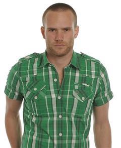 клетчатая модная рубашка