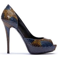 туфли из крокодиловой кожи