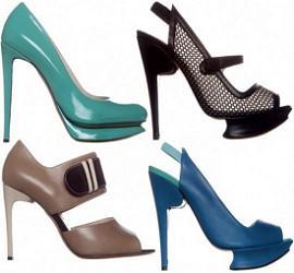 экстравагантные туфли 2011