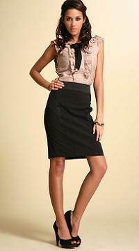 весной 2011 в моде юбки чуть выше колена