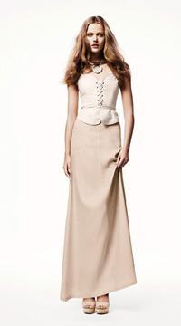 весной 2011 на пике моды макси юбки