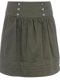 юбки в стиле милитари актуальны в 2011 году