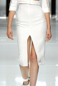 юбки с разрезами актуальны в 2011 году