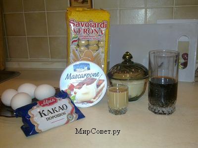 тирамису рецепт с фото