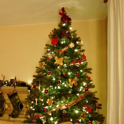 украсить новогоднюю ель