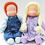 Вальдорфские куклы: особенности немецкой игрушки
