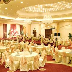 оформление свадебного банкетного зала