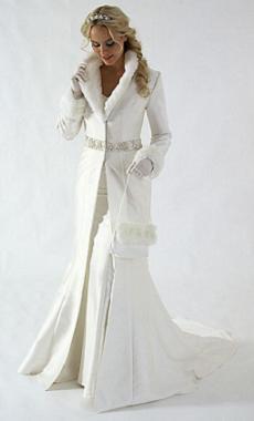 невеста зимой особенно хороша