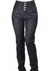 модные узкие джинсы с высокой талией