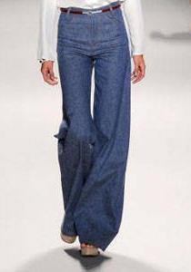 джинсовые брюкм