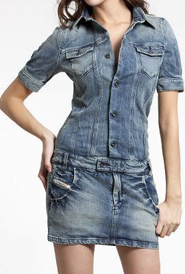 летний джинсовый костюм