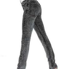 вареные серые джинсы